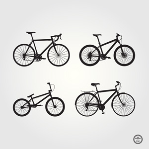 Bike Pictures Free Free bicycle silhouettes