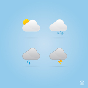 Cloud Weather Icons