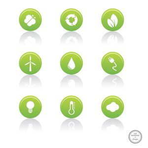 Eco Icon Buttons