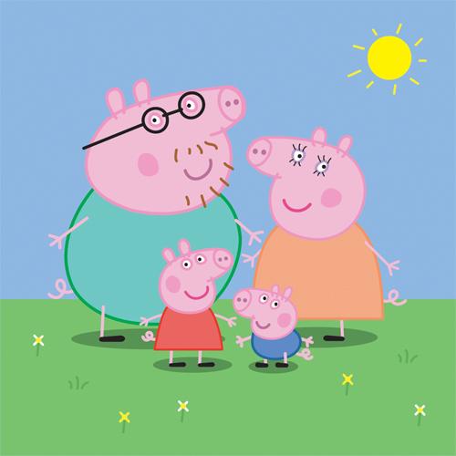 Free Peppa Pig and Family Vector – IAN BARNARD