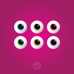 Vector Eyes Graphic