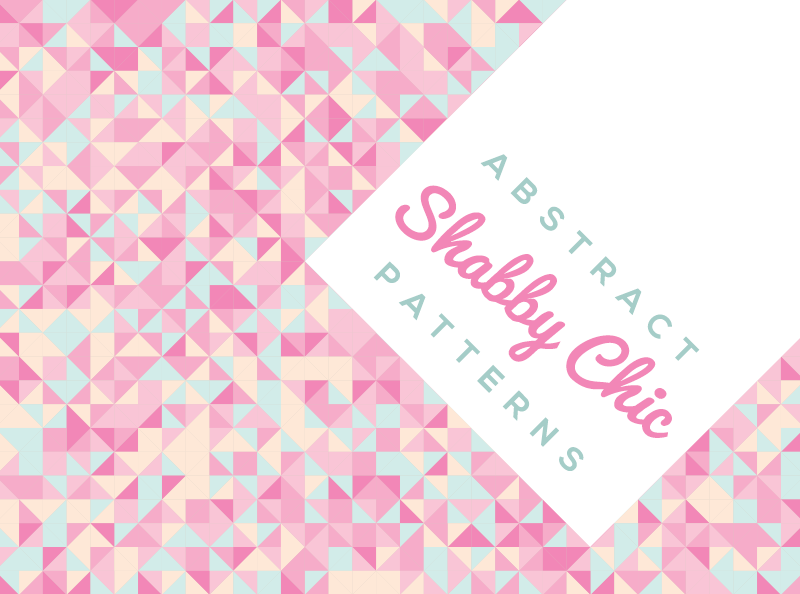 10 Free Abstract Shabby Chic Background Patterns