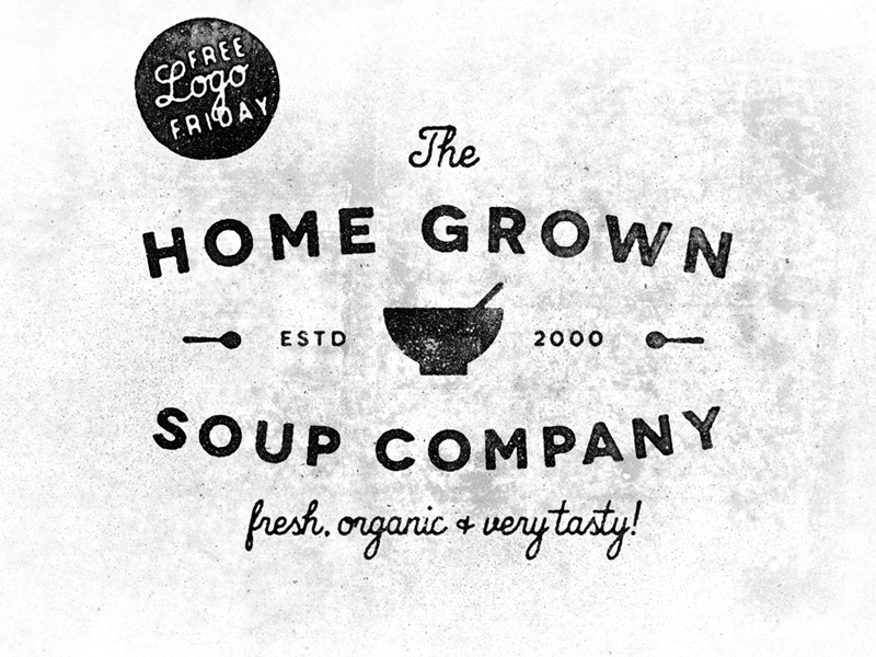 free logo template soup co.