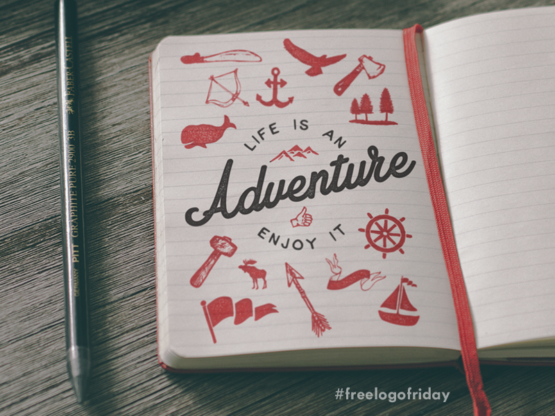 free logo friday adventure