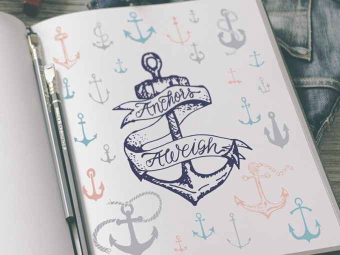 freebie friday anchors aweigh