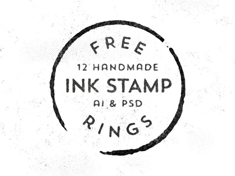 free-ink-stamp-vector
