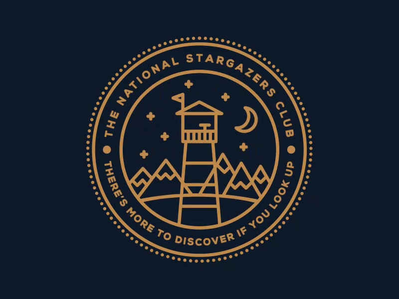 free badge the national stargazers club ian barnard