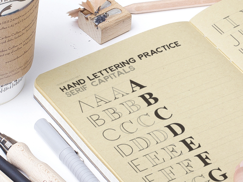 Want To Improve Your Hand Lettering Download And Print Off This Free Practice Sheet Which Will Help You Construct Letters By Breaking Down Into