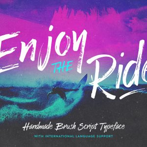 enjoy-the-ride-font-typeface-surf-o